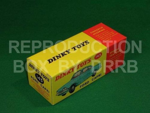 Dinky #143 Ford Capri - Reproduction Box
